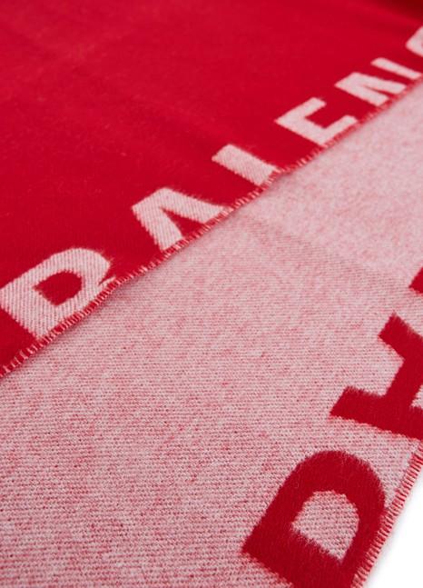 BALENCIAGAMacro Logo scarf
