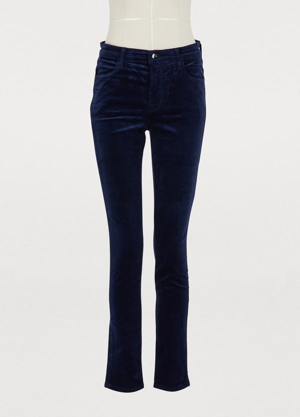c8c6edee49d67 ... J Brand Maria high-waisted skinny jeans ...