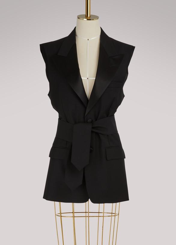 Maison MargielaConvertible mohair jacket