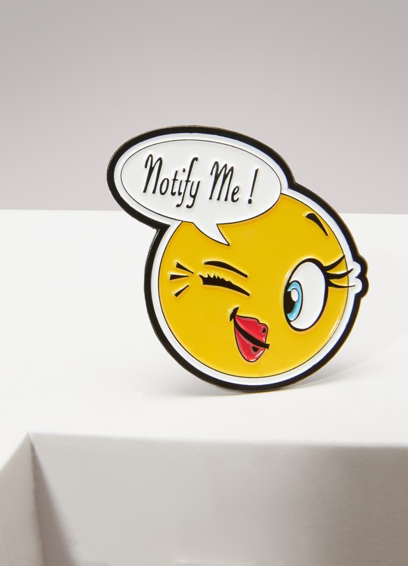 Atelier Notify Pins smiley