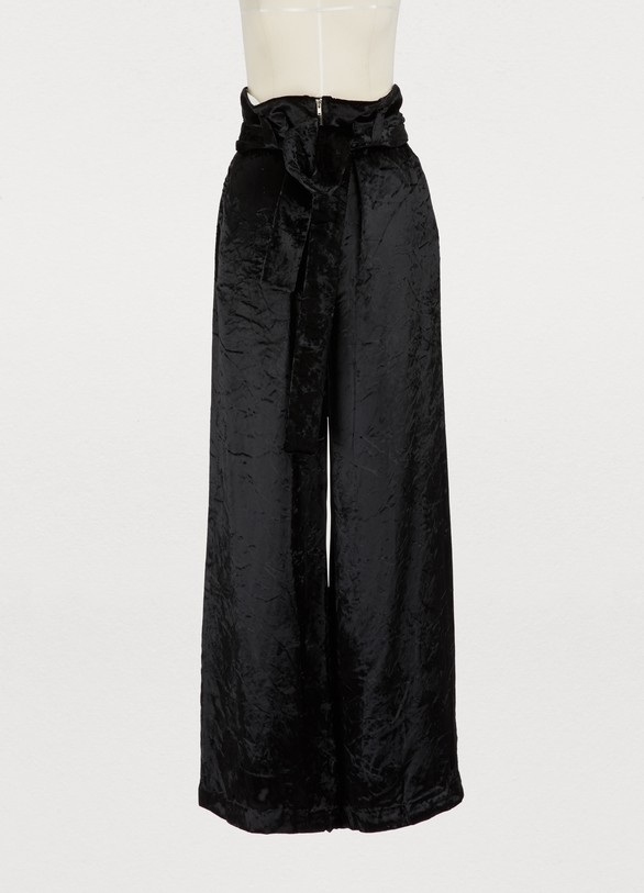 Proenza SchoulerWide-leg velvet pants