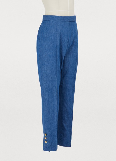 THOM BROWNE Denim trousers