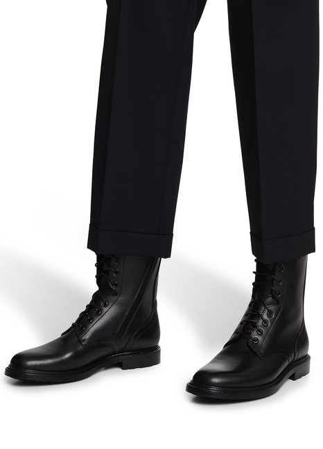 CELINERanger boots in vegetable-tanned calfskin