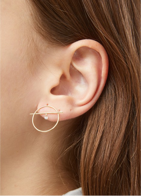 PERSEE Fibule single earring