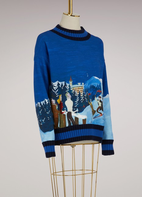 Moncler Printed sweater