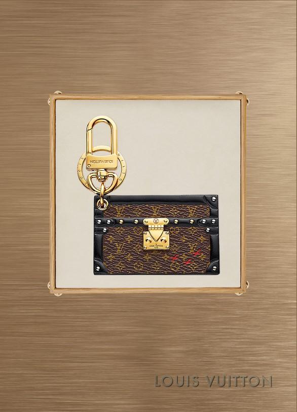 Louis VuittonBijou de sac et porte-clés Petite Malle