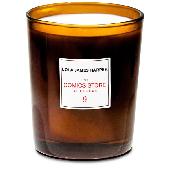 LOLA JAMES HARPER The Comics Store of George candle 190 g