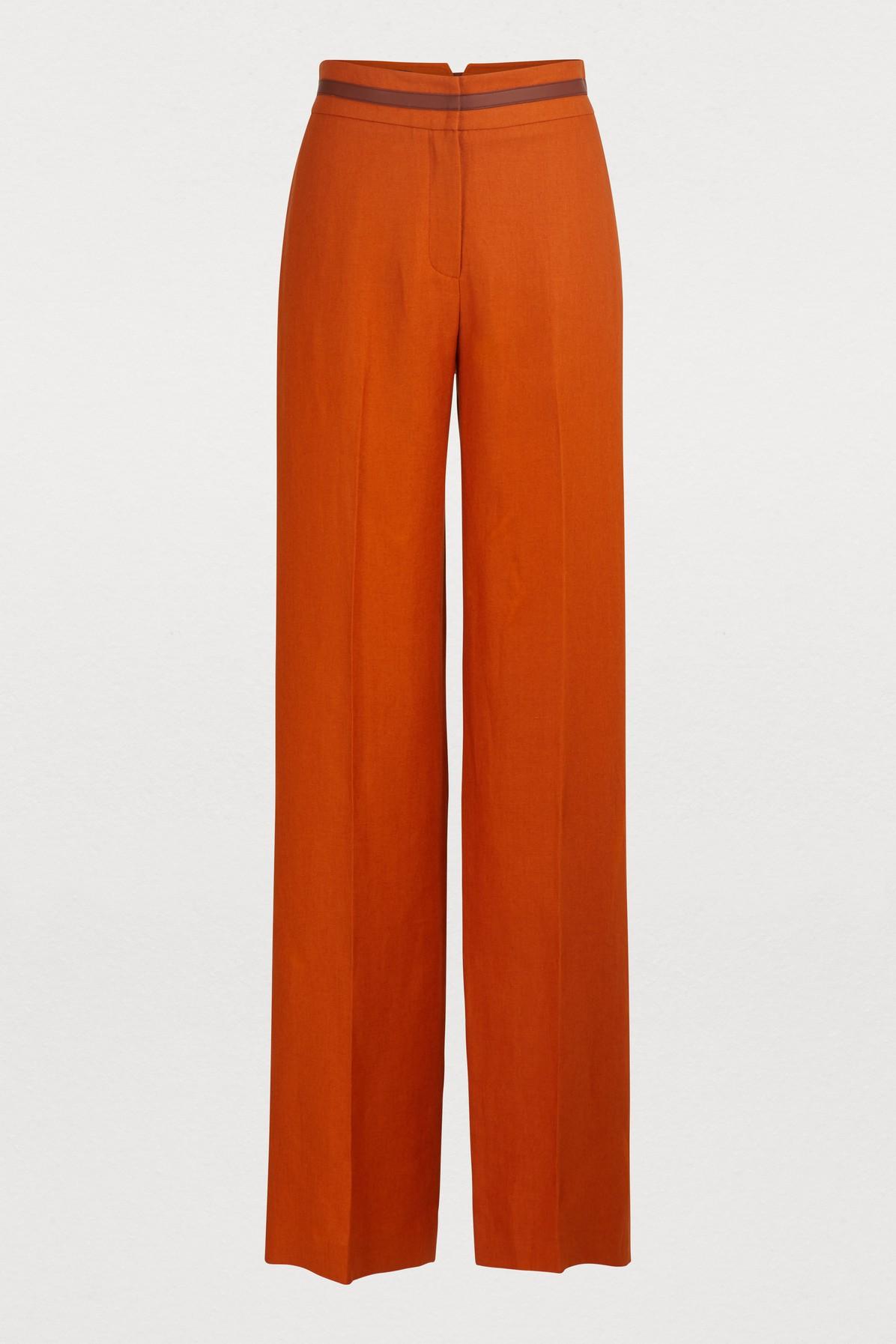 LORO PIANA | Straight-Cut Trousers | Goxip