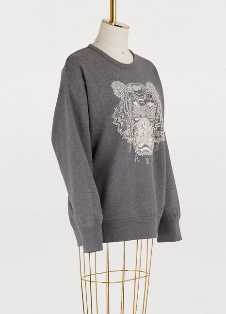 KenzoCotton tiger sweatshirt