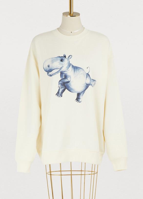 Acne StudiosPrinted cotton sweatshirt