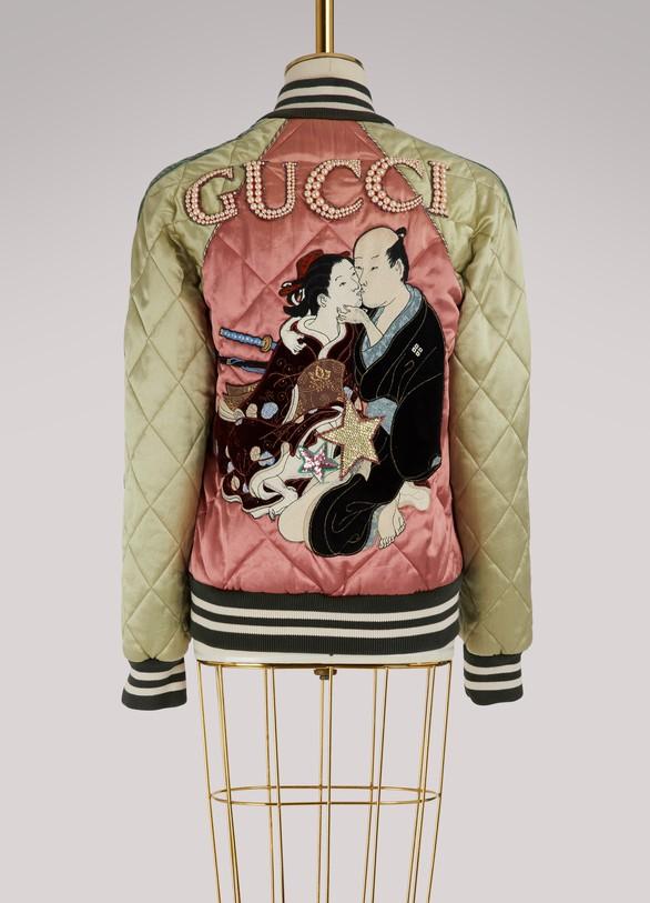GucciBlouson brodé Shunga