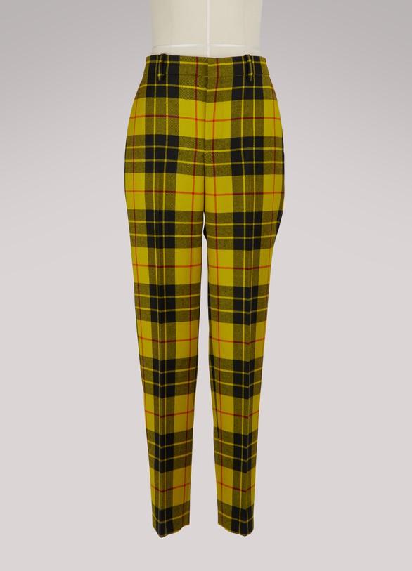 a32485d3d8b8 Balenciaga. Balenciaga Tartan pants