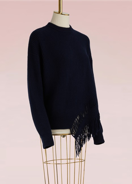 Stella McCartney Fringe Cashmere Sweater