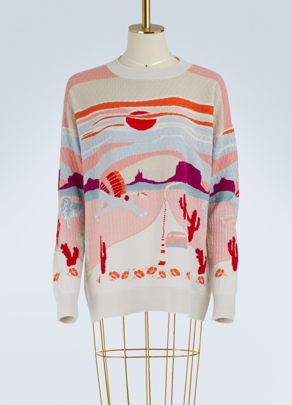 BarrieWild West cashmere sweater