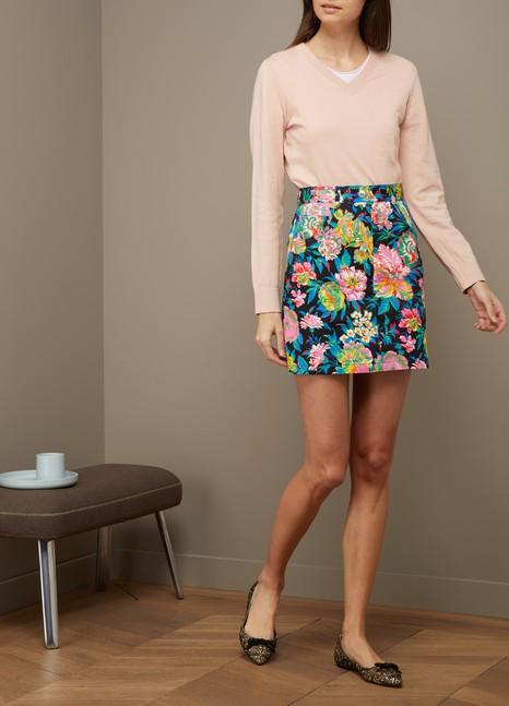 A.P.C.Edina cotton and cashmere sweater