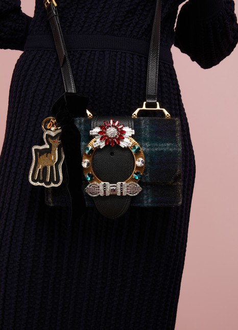 Miu MiuCharm de sac bambi
