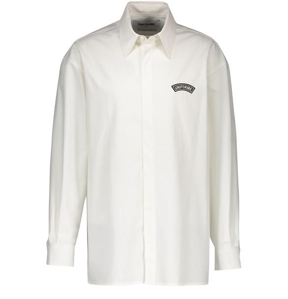 UNIFORMEOversized poplin shirt