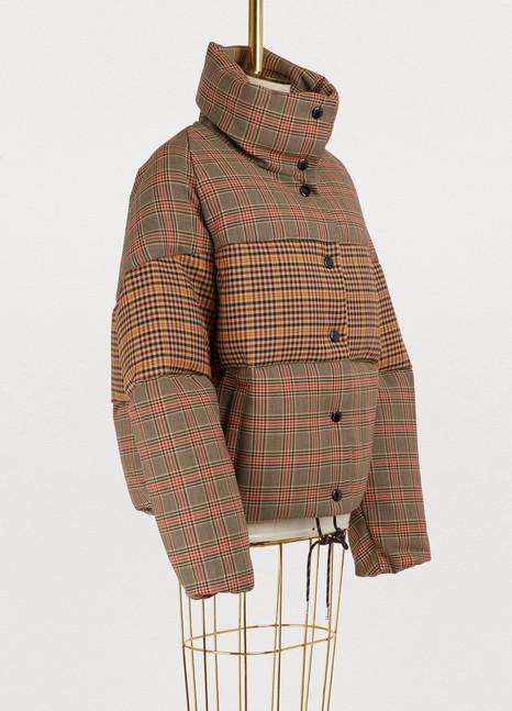 MonclerCer mixed wool jacket