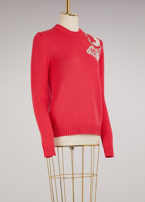 Miu Miu Woolen Phone Sweater