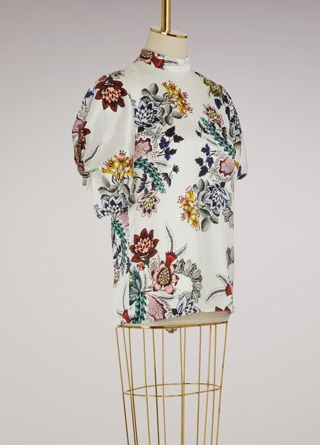 ErdemOmara puffy-sleeved top