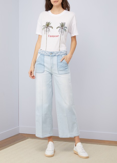 Dahlia cropped pants Atelier Notify