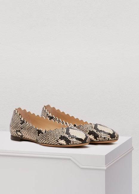 Chloé Lauren ballet pumps