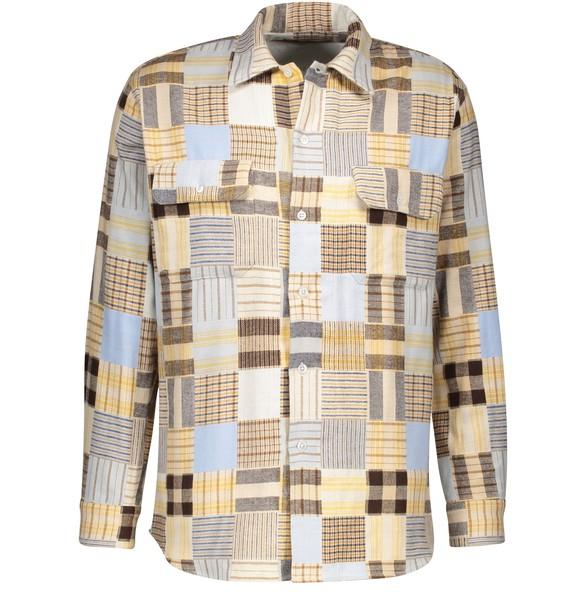 HOLIDAY BOILEAUPatchwork shirt