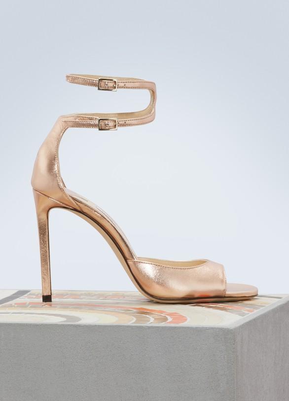 655f226e3ff Jimmy Choo Lane 100 sandals