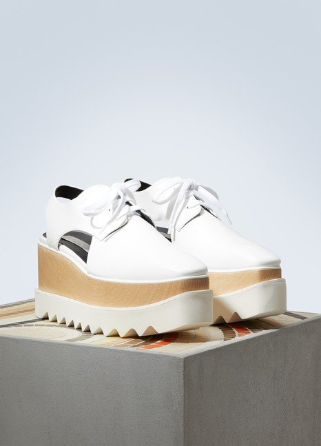 Stella McCartney Derbies Elyse ajourées
