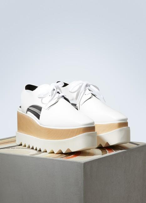 Stella McCartneyElyse cut-out derby shoes