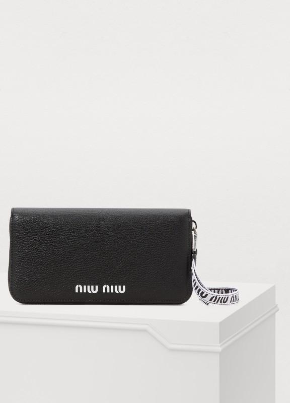 a2b96efd12e5 Miu Miu. Quilted wallet