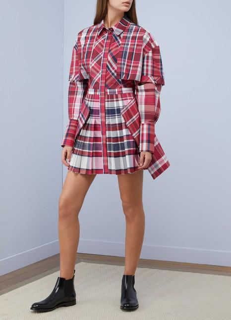 Alexander McQueenShort silk dress