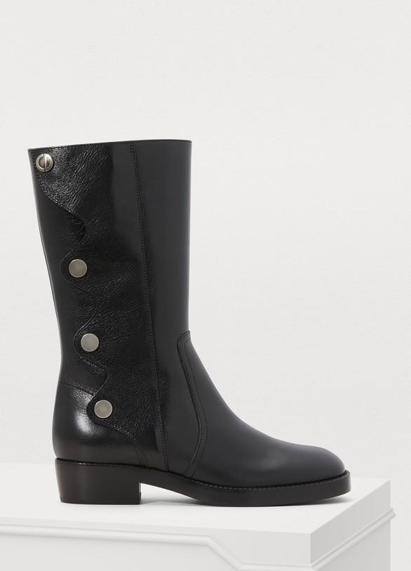 Women s Diorodeo calfskin ankle boots  878e569c91