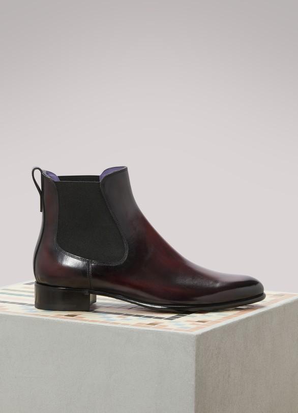 BerlutiClassic chelsea boots