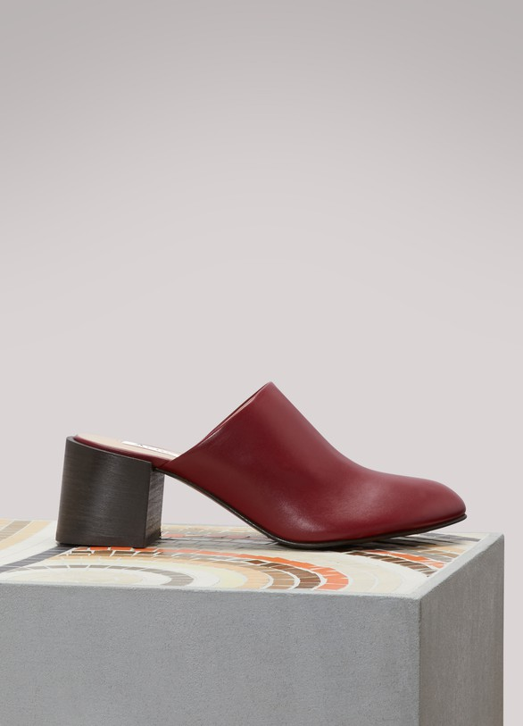 Acne StudiosSil high-heeled mules