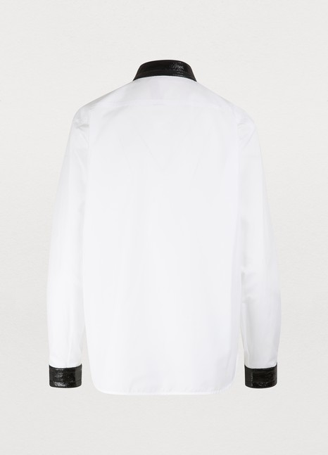 N 21Jewelled collar shirt