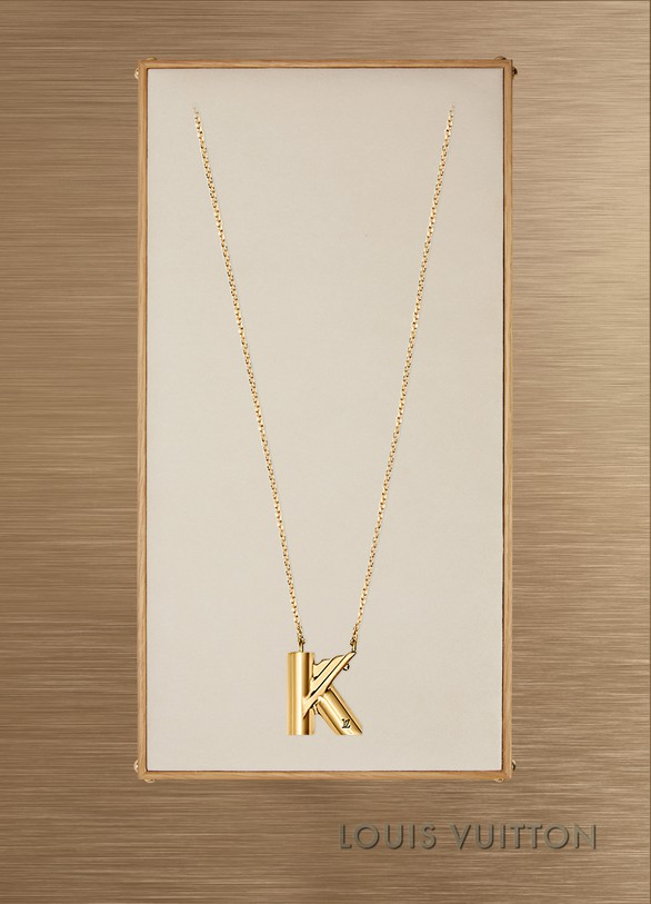 Lv Me Necklace Letter K Louis Vuitton 24 Svres