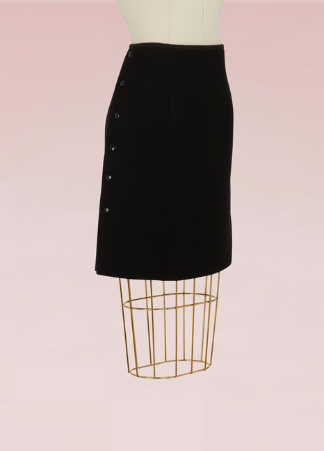 Sportmax Cagli wool skirt