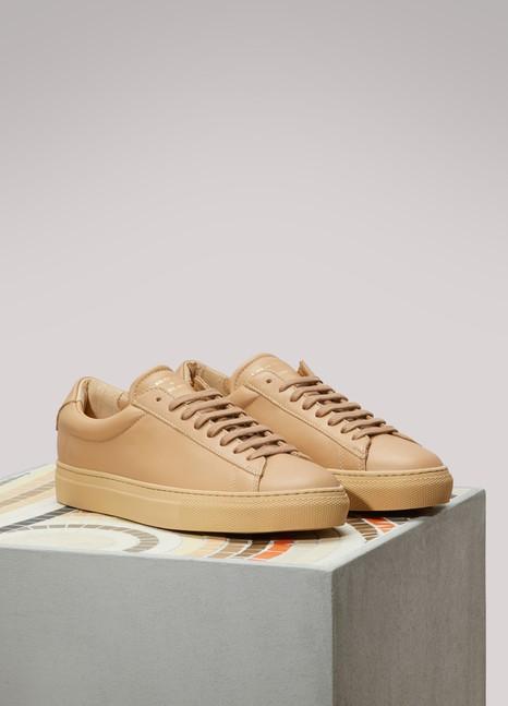 ZespaTone-on-Tone Nappa Sneakers