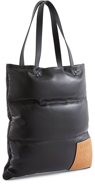 LOEWEPuffy vertical tote bag