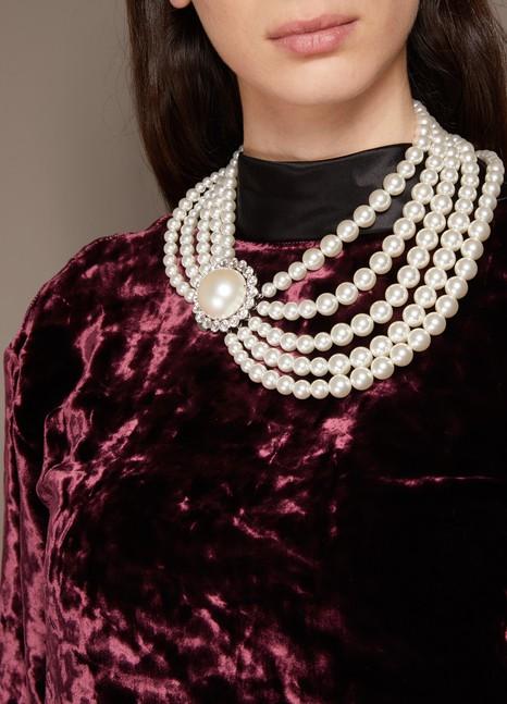 Miu MiuPearl Necklace