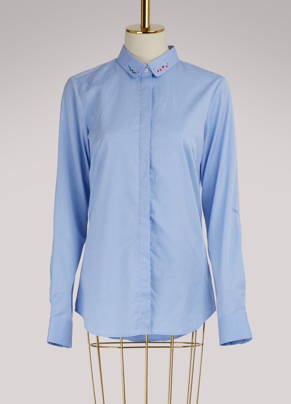 Maison LabicheSnake cotton shirt
