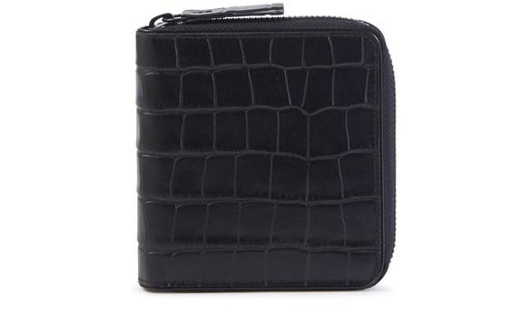 DRIES VAN NOTENCrocodile zipped wallet