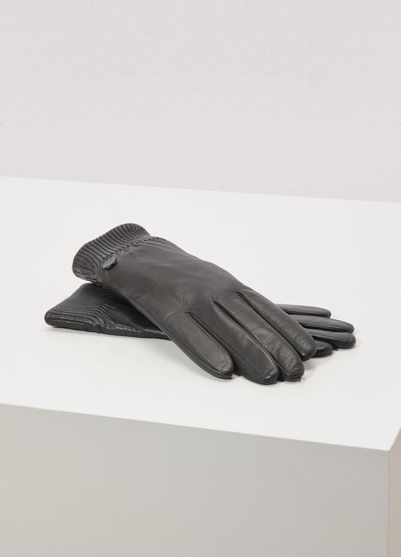 8bb45372a359 Canada Goose Leather Rib Glove