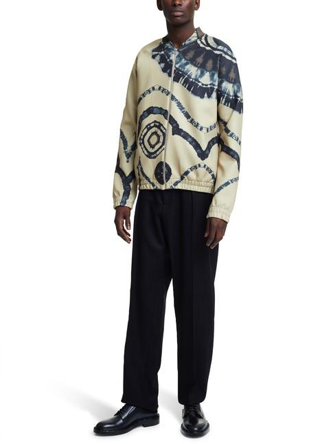 DRIES VAN NOTENHabson Tie-Dye zipped jumper