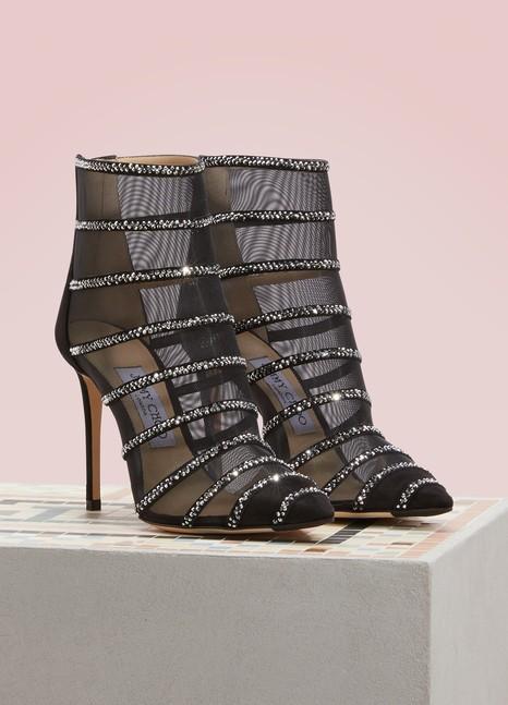 Jimmy ChooBelle 100 ankle boots