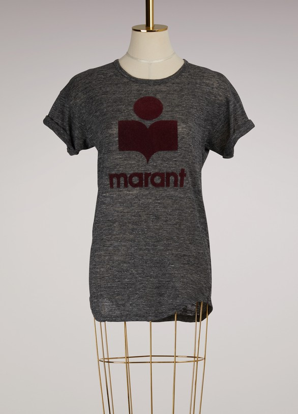0c72fa4260b77 Isabel Marant Etoile Linen Koldi T-shirt