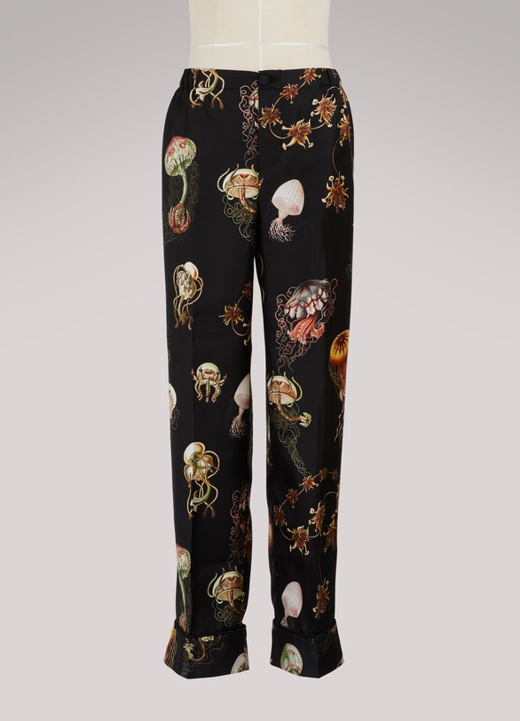 F.R.S For Restless Sleepers Ceo silk trousers