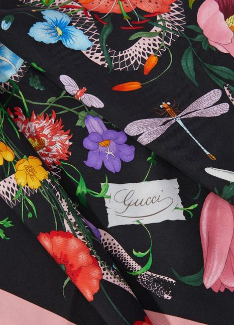 GucciFlora silk scarf