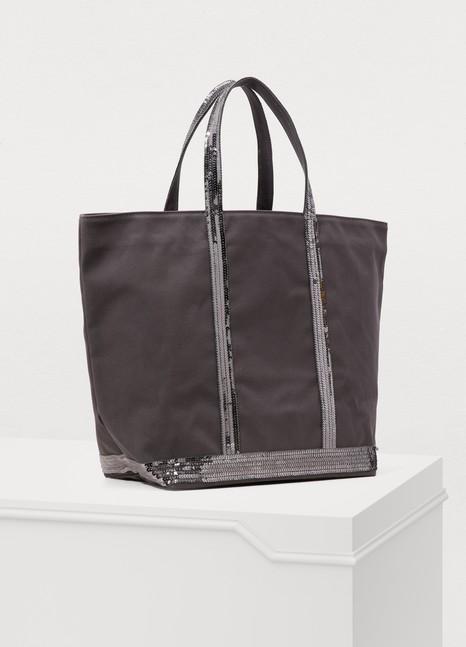 Vanessa BrunoMedium+ Sequined Canvas Tote Bag
